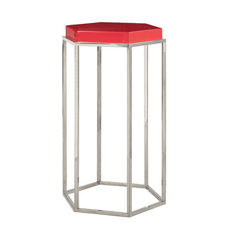 Worlds Away - Octagonal Occasional Table - ELSA RDN