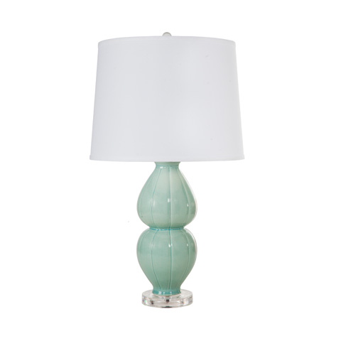 Image of Sea Foam Ceramic Lamp