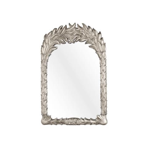 Worlds Away - Silver Leaf Mirror - PAUL S