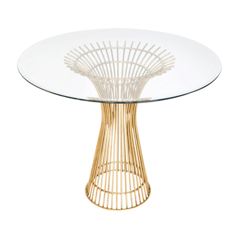 Worlds Away - Gold Leaf Iron Table - POWELL 42
