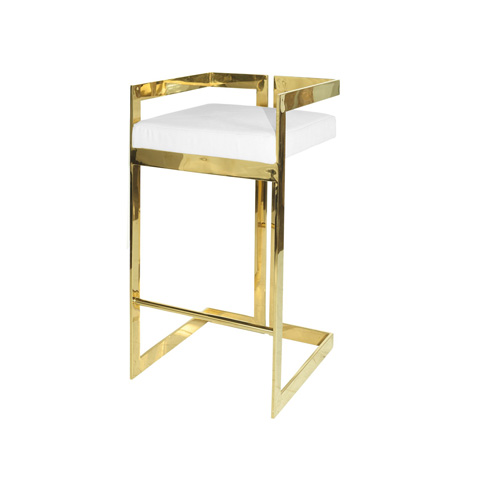 Worlds Away - Linear Barstool - HEARST WH