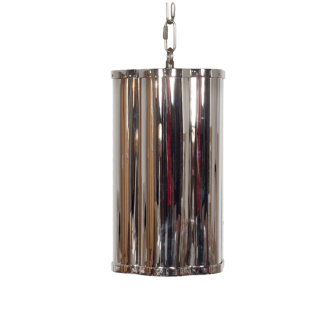 Worlds Away - Clover Pendant in Nickel with Diffuser - LINDSEY N