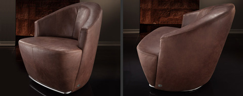 Image of Giuudita Swivel Chair