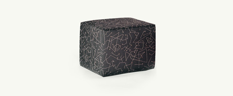 Younger Furniture - Abstract Ottoman - 1030