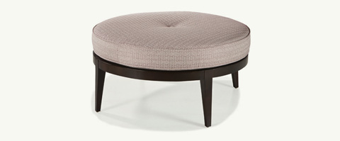 Younger Furniture - Ida Round Ottoman - 1080