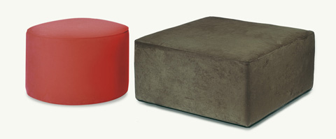 Younger Furniture - Cocktail Ottoman - 1045