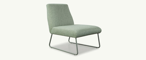 Younger Furniture - Kore Q Armless Chair - 1625