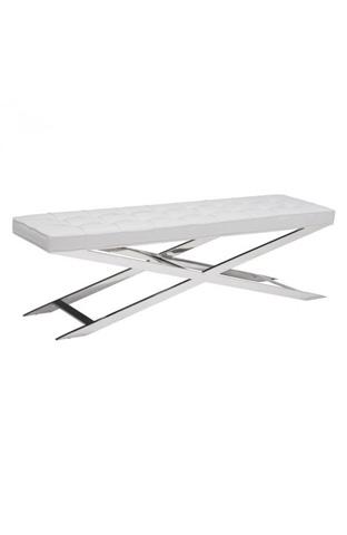 Image of Pontis Bench in White