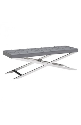 Zuo Modern Contemporary, Inc. - Pontis Bench in Gray - 100338