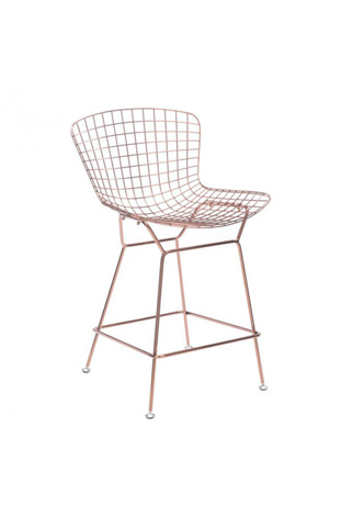 Zuo Modern Contemporary, Inc. - Wire Counter Chair - 100363