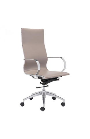 Zuo Modern Contemporary, Inc. - Glider High Back Office Chair - 100373