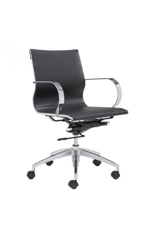 Zuo Modern Contemporary, Inc. - Glider Low Back Office Chair - 100374