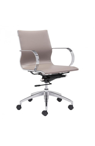 Zuo Modern Contemporary, Inc. - Glider Low Back Office Chair - 100376