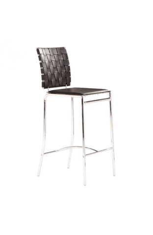 Zuo Modern Contemporary, Inc. - Criss Cross Barstool - 333062