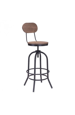 Zuo Modern Contemporary, Inc. - Twin Peaks Bar Chair - 98181