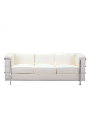 Image of Fortress Sofa in White