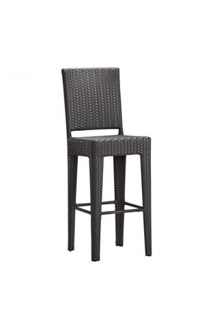 Image of Anguilla Bar Chair in Espresso