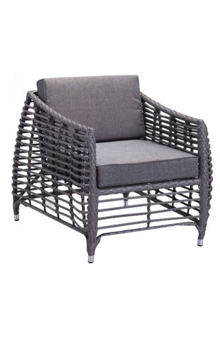 Image of Wreak Beach Arm Chair in Gray
