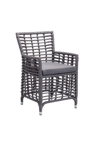 Image of Sandbanks Dining Chair in Gray
