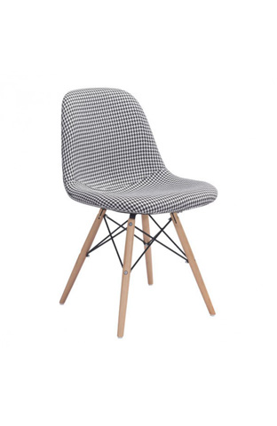 Image of Sappy Dining Chair in Houndstooth