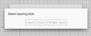 Select Layer/color with Beam Studio