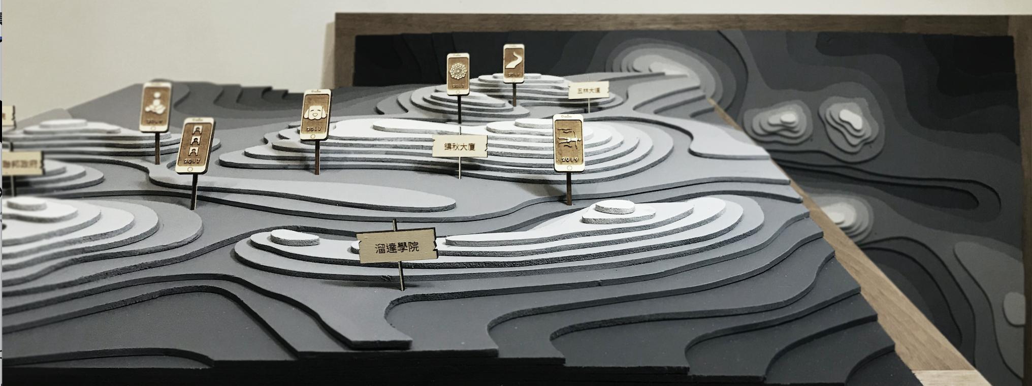建築室內設計案例看這裡!高質感雷雕建築模型
