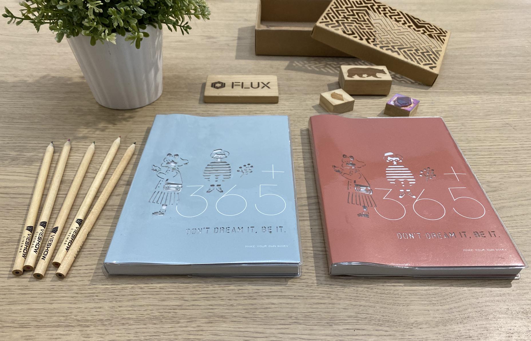 FLUX 特別企劃|雷雕手帳玩出新花樣