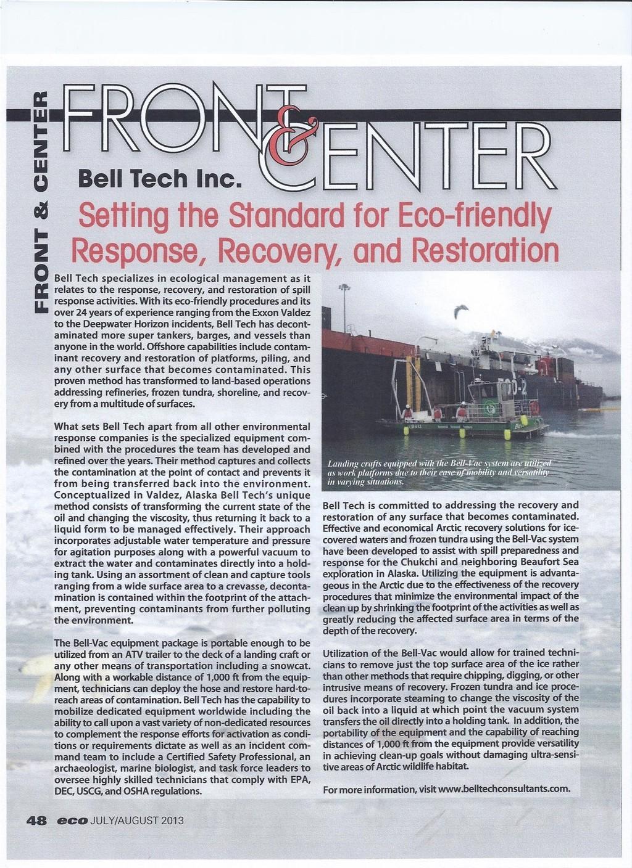 2013 issue of Eco Magazine Photo 1