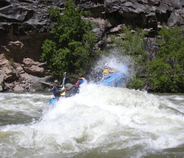 Gunnison river expeditions on gone the guide outdoor network for Gunnison river fly fishing