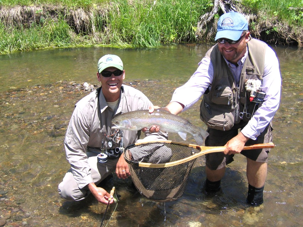 Half day trip with breckenridge outfitters on gone for Fly fishing breckenridge