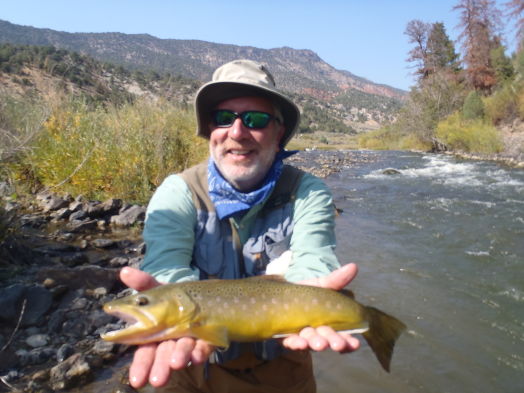 Full day trip with breckenridge outfitters on gone for Fly fishing breckenridge