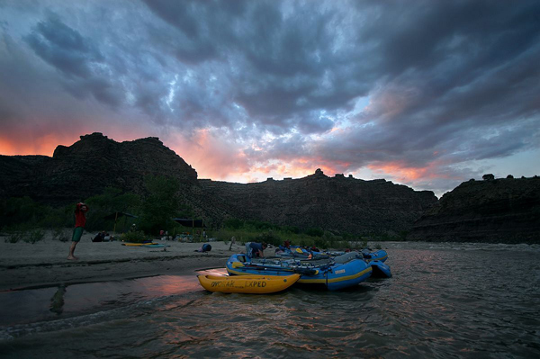 Green River Rafting – UT