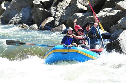 White Water Teen Camp