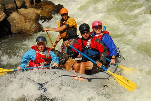 Arkansas River Rafting – Pines