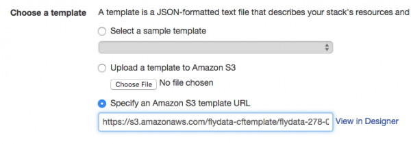 AWS - cloud formation - template
