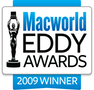 Acorn received the Macworld 2009 Eddy Award