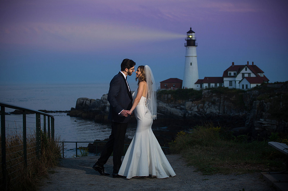 Kellie and Josh at the Inn By The Sea
