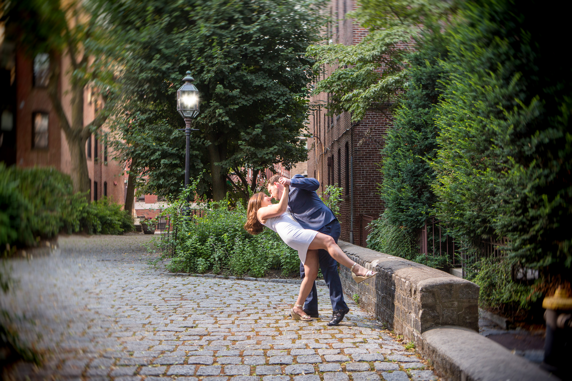 engagement pictures in boston's north end