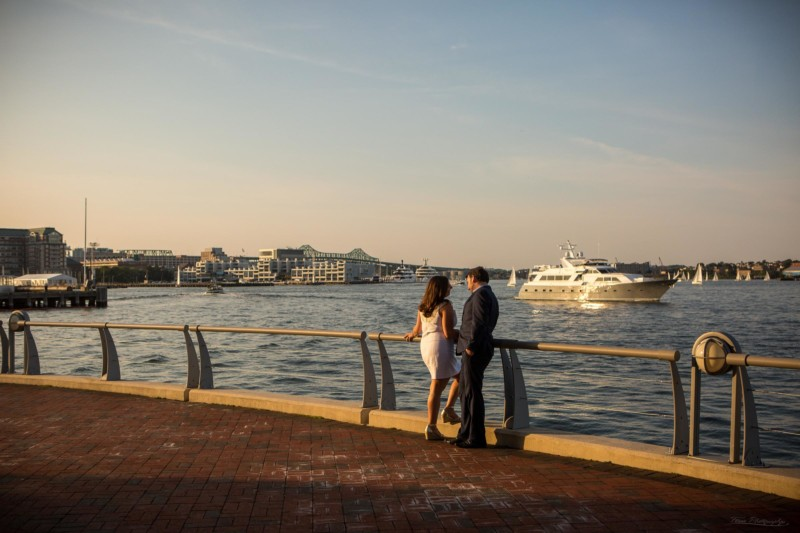 Boston engagement pictures at the waterfront