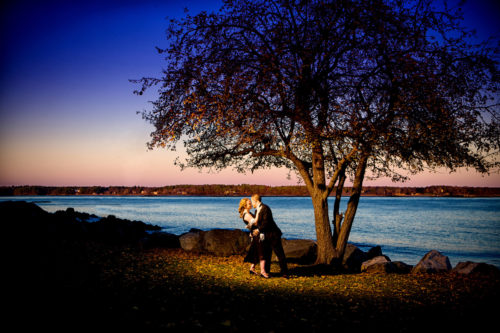 Engagement Picture at New Castle Common