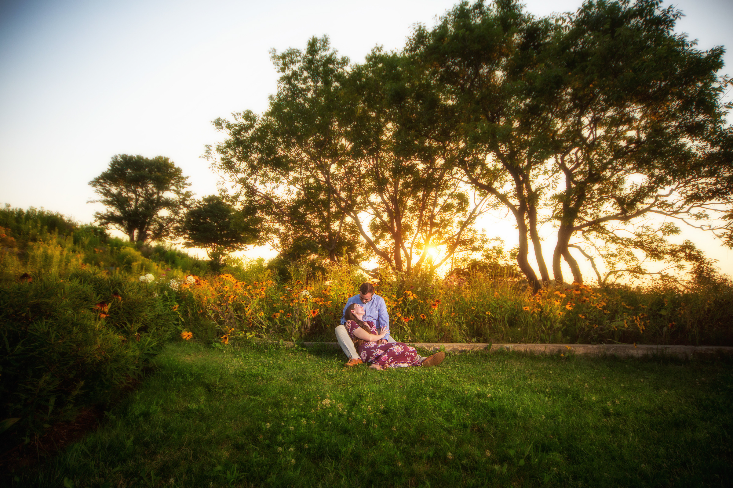 Engagement Pictures at Fort Williams park