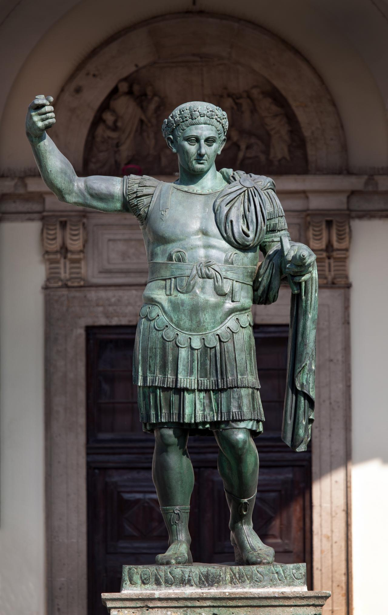 the life and times of popular roman emperor constantine Constantine i was a roman emperor who ruled early in the 4th century he was the first christian emperor and saw the empire begin to become a christian state constantine i was born circa 280 in.