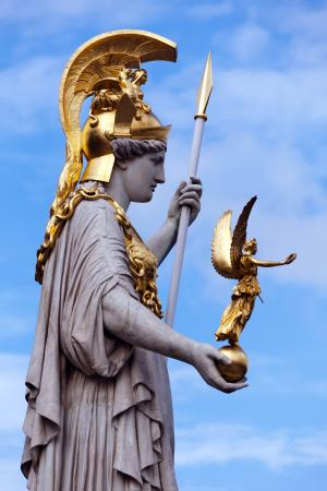 That The World May Know Athena Definition