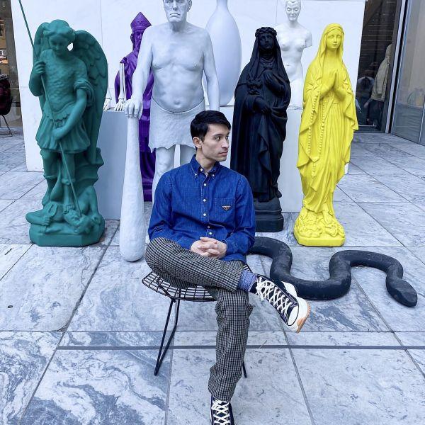 THE MUSEUM OF MODERN ART SCULPTURE GARDEN