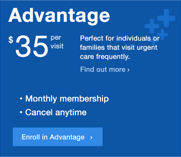 Advantage - Monthly Membership Dues