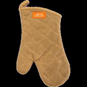 BBQ Mitt - Brown Canvas & Leather (Clone)
