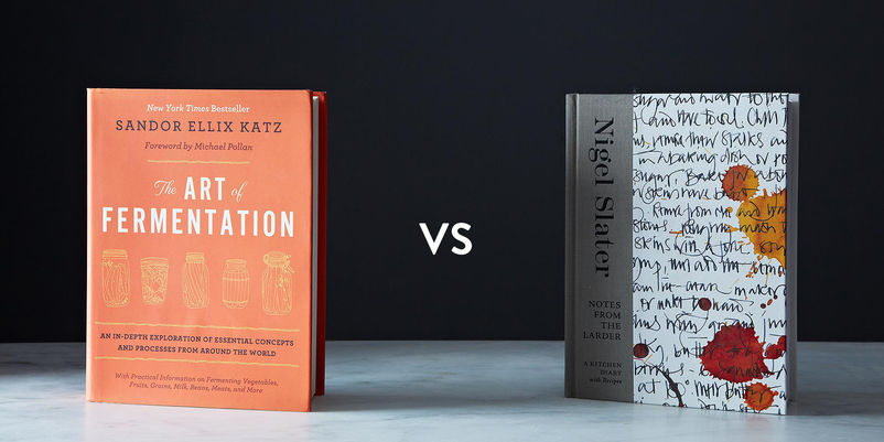 The Art of Fermentation vs. Notes from the Larder