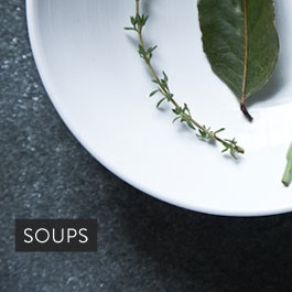 Leaves-and-all Ramp Soup