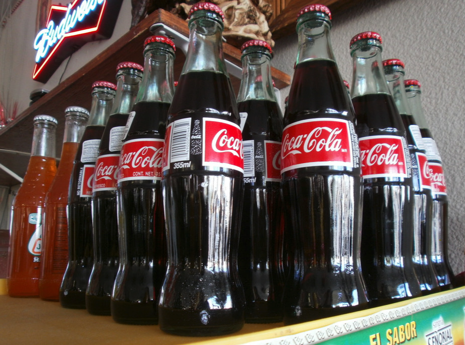 Mexican Coca-Cola in Glass Bottle