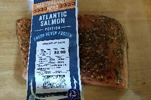 Aldi (Fresh Herbed Salmon)